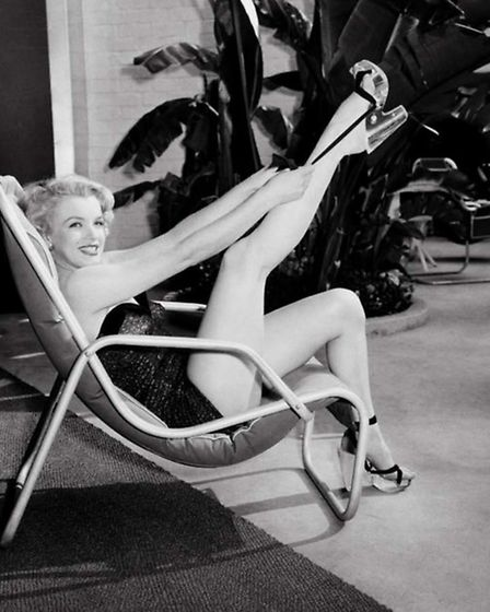 Another shot of Marilyn Monroe from the Frank Worth collection on show at Zebra One Gallery.