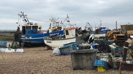 It is a difficult time for Britain�s small-scale fishermen. Photo: Simon Watkins.