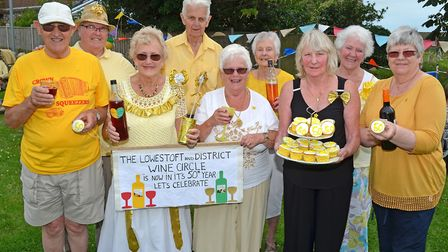 The Lowestoft and District Amateur Wine Circle held its annual summer get together. Picture: Mick Ho
