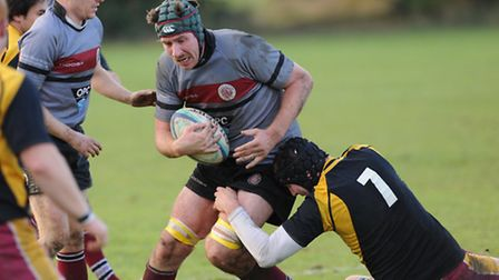 UCS Old Boys captain James Boyde scored twice. Pic: Paolo Minoli