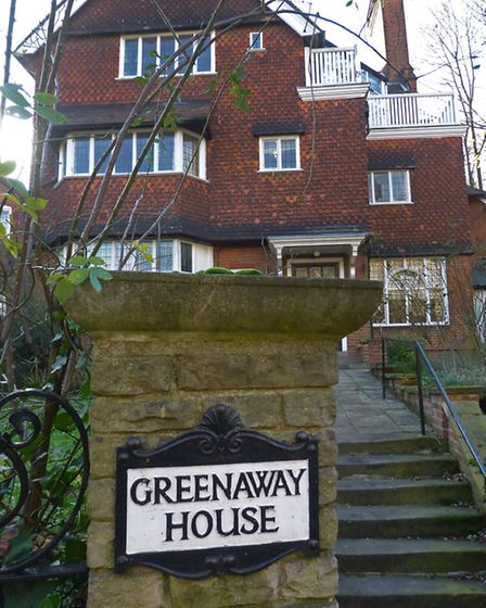 The Greenaway house in Frognal, Hampstead. Picture: Nigel Sutton