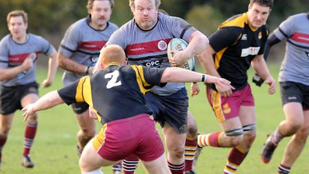 UCS Old Boys' Paul Dillon made a big impact off the bench, helping his side to fight back from 10-0