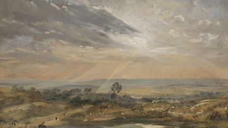 Branch Hill Pond: Hampstead by John Constable. Picture: Victoria and Albert Museum, London.
