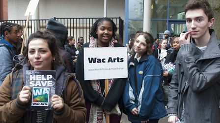 Weekend courses at Wac Arts have been saved. Picture: Nigel Sutton