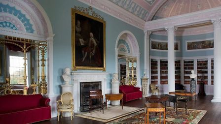 The refurbished Kenwood House library
