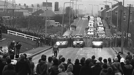Miners Strike at Cortonwood Colliery in Yorkshire, 84/85 photo credit John Sturrock/reportdigital.co