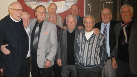 Ten former war-time pupils from Queensbridge Road School have been meeting every two years for the l