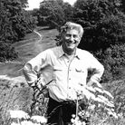 Peter Gorb pictured on Hampstead Heath in 1991. Picture: Nigel Sutton