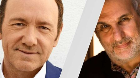 Kevin Spacey CBE and Alan Yentob