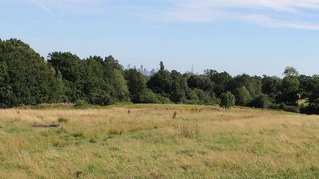 A man was fined �900 for putting a tent up on Hampstead Heath without permission