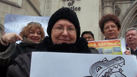 Disabled resident Maria Nash's judicial review of One Barnet cost Barnet Council �470,000.