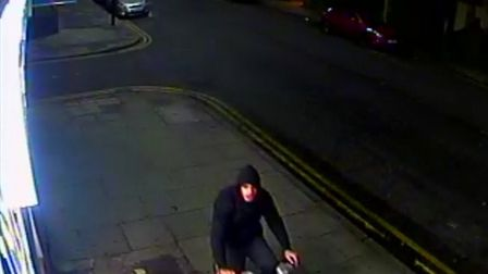 The man police want to trace in connection with the attempted rape