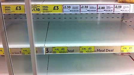 As usual, Tesco have kindly taken the liberty of deciding my diet hunger strike starts today…