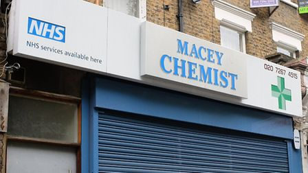 Macey Chemist in Mansfield Road