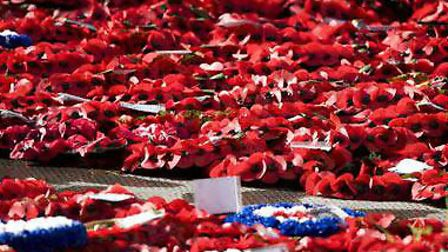 Wreaths will be laid at war memorials in Hackney today