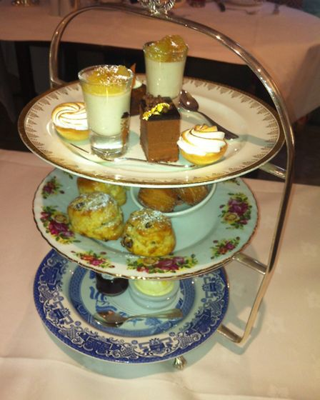 Afternoon tea at Duke's hotel