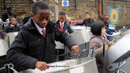 Northwold Primary School steel band