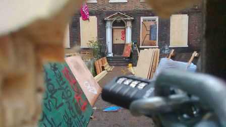 Squatters have been eviceted from 195 Mare Street. Picture: Rossana Tich