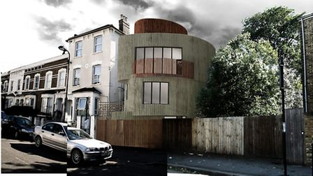 A mock-up of what Vex will look like in Maury Road, Stoke Newington