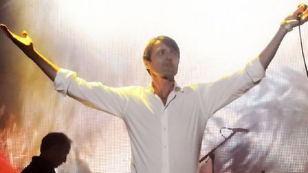 Britpop legends Suede kicked off the Live by the Lake concerts at Kenwood House. Picture: Dieter Per