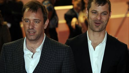 South Park creators Trey Parker (left) and Matt Stone inspired the Monty Python reunion, Terry Jones