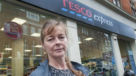 Jenny Anderson was one of many Hampstead residents left unhappy when Tesco Express reduced organic p