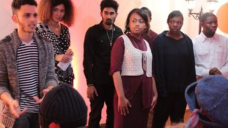 youngsters from Hackney perform a new take on Chaucer's The Canterbury Tales
