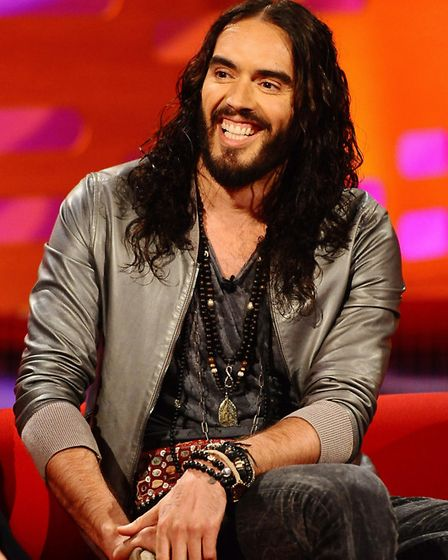 Rainbow George wants comedian Russell Brand to get behind his latest political venture. Picture: PA