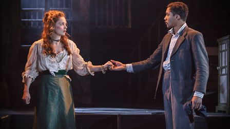 Watch Ruth Wilson (Rose) and Simon Coombs (Tim) in The El Train tonight.