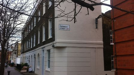 Mandela Street in Camden Town, then called Selous Street, was home to the exiled Anti-Apartheid Move