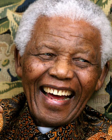 Nelson Mandela died yesterday aged 95. Picture: Johnny Green/PA