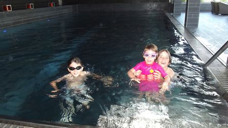 The swimming pool in the Cambrian