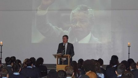 The Urswick School remembers Nelson Mandela