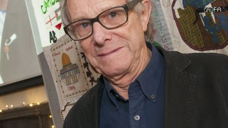 Ken Loach at the anniversary celebration. Picture: Nigel Sutton.