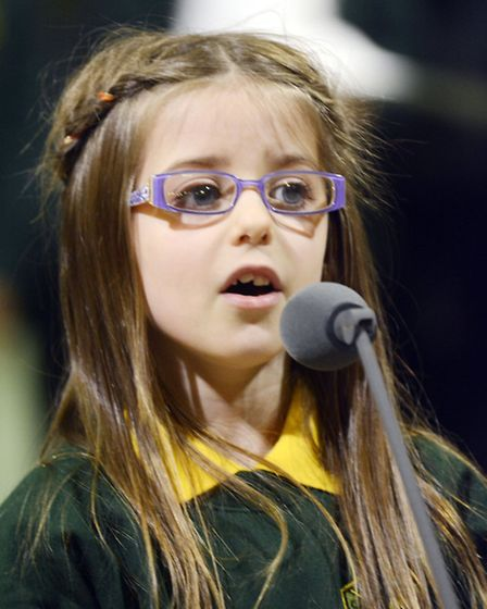 7-year old Nova Glyn performs her solo