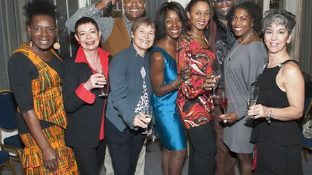 Members of the original class of 1978 celebrate at Wac Arts 35th birthday party. Picture: Nigel Sutt