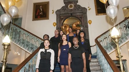 WAC Arts senior choir sing at the 35th birthday celebrations. Picture: Nigel Sutton
