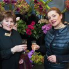 Galton Flowers opening in Flask Walk, Hampstead. Pictured are Brita Wolf, whose mother opened the fi