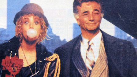 Emily with Peter Falk in 1989 film Cookie
