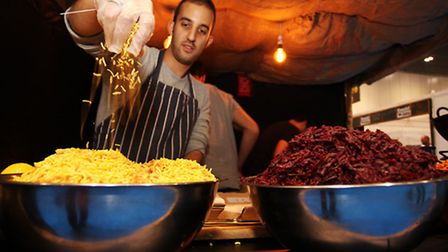 Street Feast returns to Hawker Hall in London Fields with its selection of street food and craft bee
