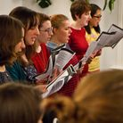 Students at City Academy during a singing class. Picture: Copyright of City Academy