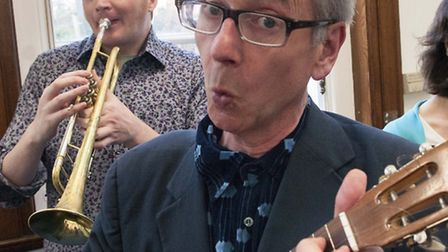 Listen to local poet John Hegley perform with jazz musicians at The Vortex tonight