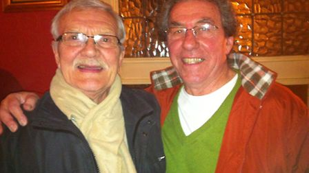 Bob Flanders, 76, and Colin Wayne, 67, are both former firefighters at Kingsland fire station
