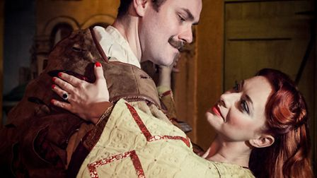Kiss Me Kate at Upstairs at the Gatehouse in Highgate. Picture: Darren Bell