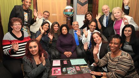 Dr Neela Gadhvi, of Stoke Newington surgery, celebrates her retairing with family and friends.