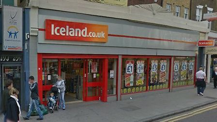 Iceland in Kentish Town. Picture: Google