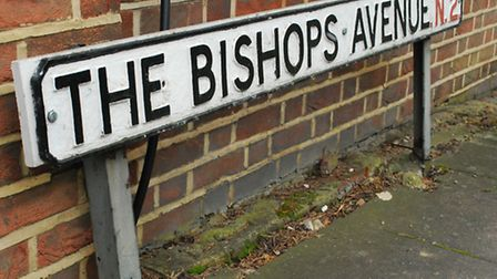 """The Bishops Avenue, known as """"Billionaires' Row"""", is part of the N2 postcode. Picture: Polly Hancock"""