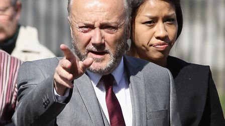 George Galloway MP denounces 'rancid' Maajid Nawaz and 'New Labour apologist' Tulip Siddiq Picture: