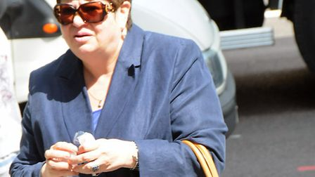 Cllr Nilgun Canver arrives at Highbury Corner Magistrates Court. Picture: Dieter Perry