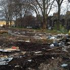 Mabley Green, destroyed by fly tipping, photo Damian Rafferty